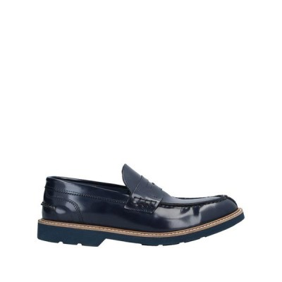 ANDREA PIRAS モカシン  メンズファッション  メンズシューズ、紳士靴  モカシン ブルー