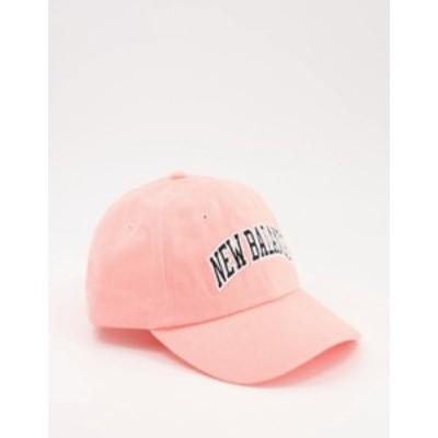ニューバランス レディース 帽子 アクセサリー New Balance Collegiate cap in pink Pink