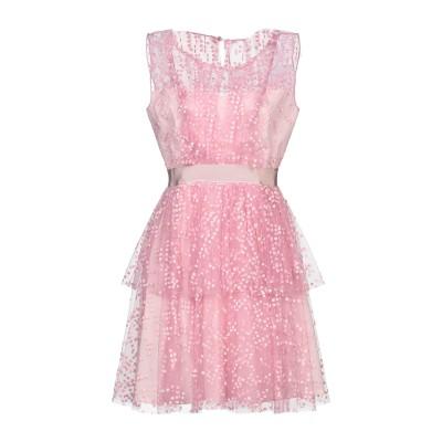 SI-JAY ミニワンピース&ドレス ピンク 42 ナイロン 100% ミニワンピース&ドレス