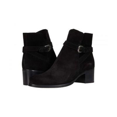 La Canadienne ラカナディアン レディース 女性用 シューズ 靴 ブーツ アンクル ショートブーツ Providence - Black Suede