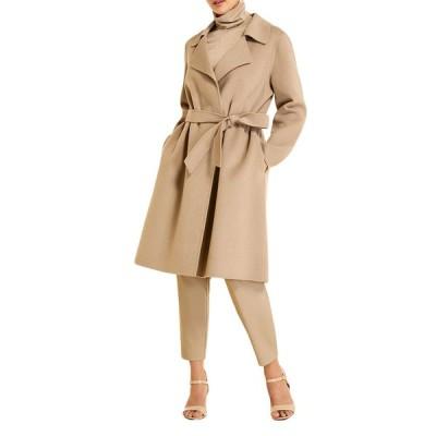 マリナリナルディ レディース コート アウター Plus Size Trousse Double-Face Wool-Blend Coat