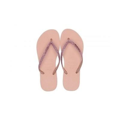 Havaianas ハワイアナス レディース 女性用 シューズ 靴 サンダル Slim Glitter Sandal - Ballet Rose
