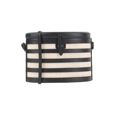 HUNTING SEASON メッセンジャーバッグ ベージュ 革 / 紡績繊維 メッセンジャーバッグ