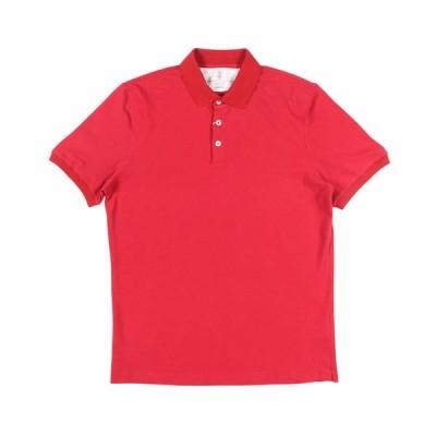 BRUNELLO CUCINELLI(ブルネロクチネリ) 半袖ポロシャツ M0T638356 レッド M 25562 【S25562】
