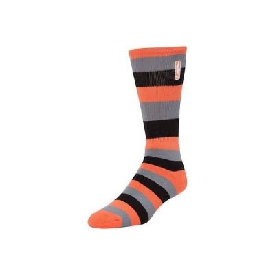 スポーツ ウェア レプリカ ユニフォーム 応援 バスケットボール NBA フォーベアフィート NBA Logo Melon/Black Pro Stripe Tri Blend Quarter Length Socks