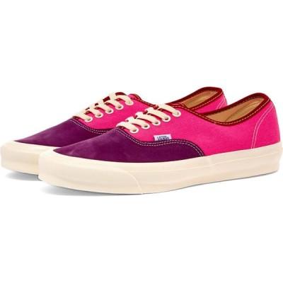バンズ ボルト Vans Vault メンズ スニーカー シューズ・靴 ua og authentic lx Grape Juice/Pink/Red