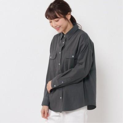 BIGポケットシャツ スミクロ M L