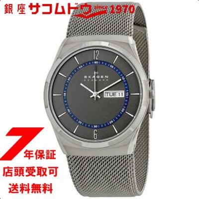 スカーゲン メンズ 時計 SKAGEN 腕時計 アクティブ グレー×ネイビー SKW6078