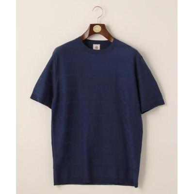 J.PRESS / ブロックボーダーニットTシャツ MEN トップス > ニット/セーター