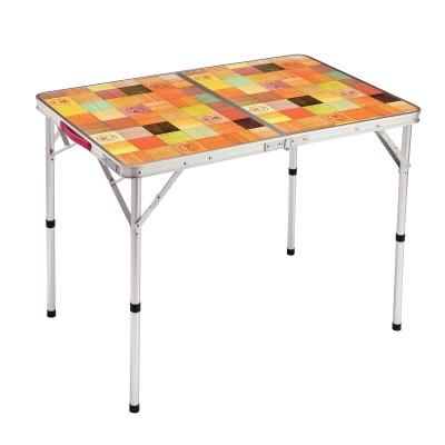 コールマン(COLEMAN) ナチュラルモザイク リビングテーブル/90プラス FREE . 2000026752