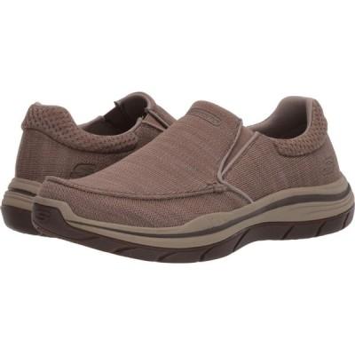 スケッチャーズ SKECHERS メンズ スニーカー シューズ・靴 Relaxed Fit Expected 2.0 - Andro Taupe