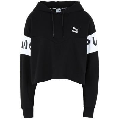 プーマ PUMA スウェットシャツ ブラック XS コットン 68% / ポリエステル 32% スウェットシャツ