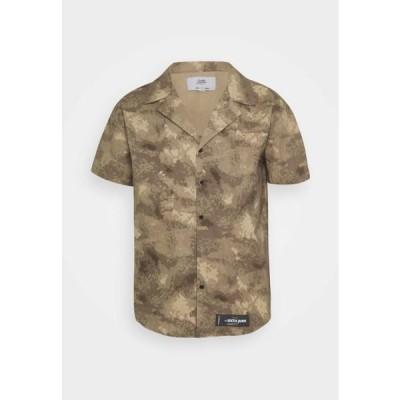 メンズ ファッション CAMO - Shirt - beige