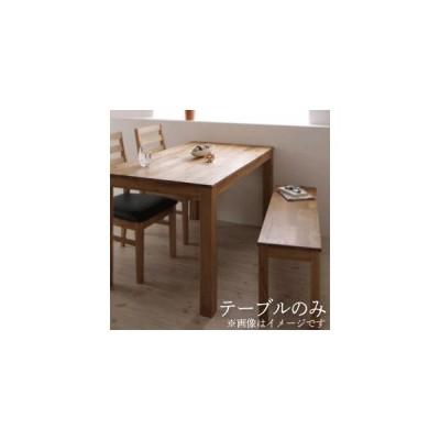 ダイニング テーブル&ベンチ・チェア  総無垢材ダイニング テーブル オーク W180
