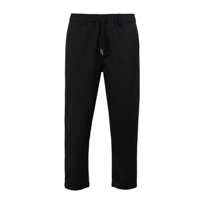 YOOX - CALVIN KLEIN JEANS パンツ ブラック S ポリエステル 67% / ウール 30% / ポリウレタン 3% パンツ