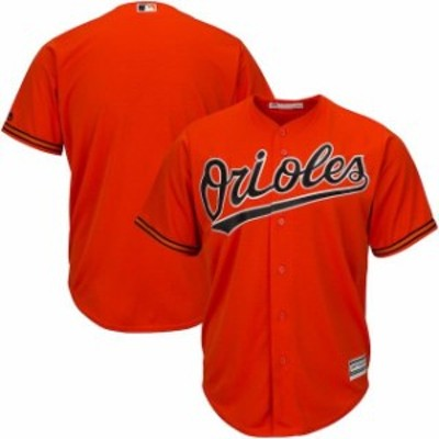 Majestic マジェスティック スポーツ用品  Majestic Baltimore Orioles Youth Orange Offical Cool Base Jersey