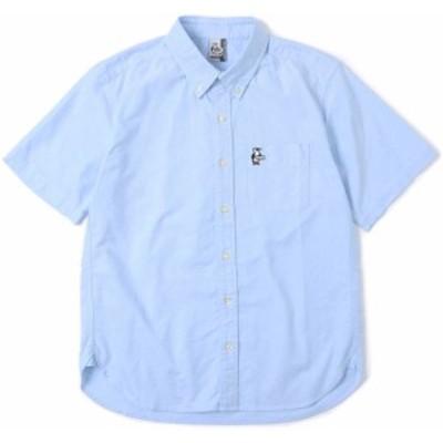 CHUMS チャムス アウトドア チャムスオックスショートスリーブシャツ メンズ CHUMS OX S/S Shirt 半袖 トップス ボタンダ