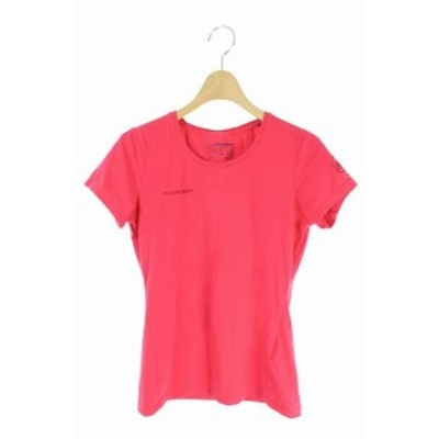 【中古】マムート MAMMUT Tシャツ カットソー 半袖 XS ピンク /AO  レディース