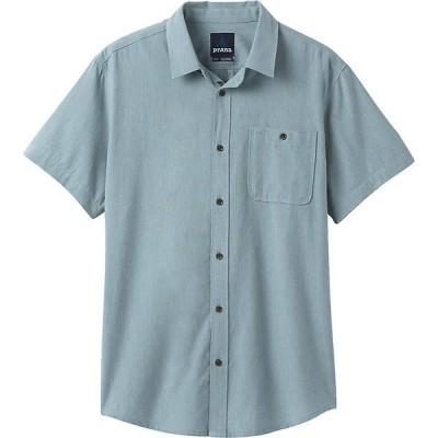 プラーナ シャツ メンズ トップス Prana Men's Jaffra SS Shirt Breeze