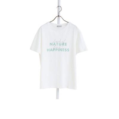 ロゴミックスオーガニックコットンTシャツ