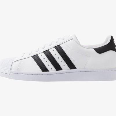 アディダス メンズ 靴 シューズ SUPERSTAR UNISEX - Trainers - footwear white/core black