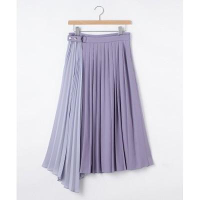 OFF PRICE STORE(Women)(オフプライスストア(ウィメン)) JILLSTUARTアシンメトリープリーツスカート