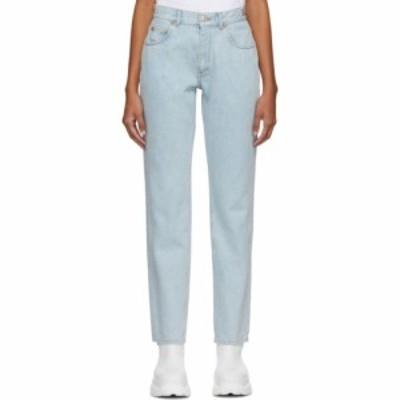 マーティン ローズ Martine Rose レディース ジーンズ・デニム ボトムス・パンツ blue straight-leg jeans Light blue