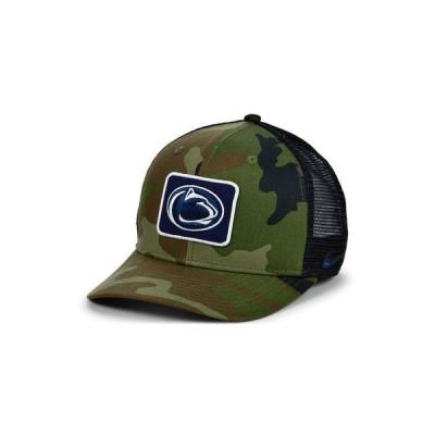 ナイキ レディース 帽子 アクセサリー Penn State Nittany Lions Camo Trucker Cap
