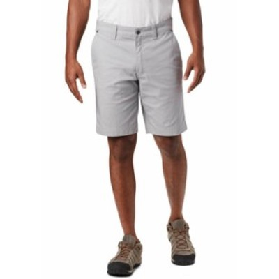コロンビア メンズ ハーフパンツ・ショーツ ボトムス Flex Roc Shorts Columbia Grey
