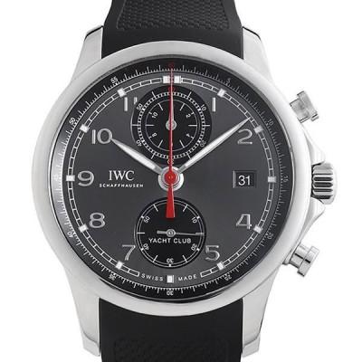 60回払いまで無金利 IWC ポルトギーゼ ヨットクラブ クロノグラフ IW390503 中古 メンズ 腕時計