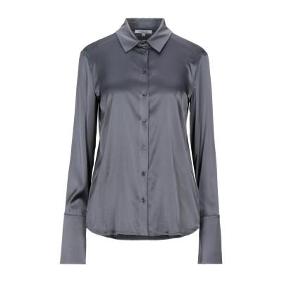 パトリツィア ペペ PATRIZIA PEPE シャツ 鉛色 42 レーヨン 67% / ナイロン 28% / ポリウレタン 5% シャツ