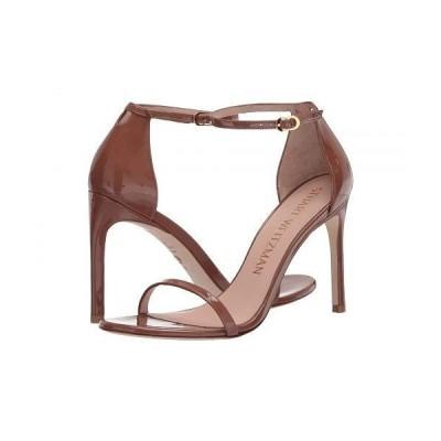 Stuart Weitzman スチュアートワイツマン レディース 女性用 シューズ 靴 ヒール Nudistsong Ankle Strap Sandal - Cappuccino Patent
