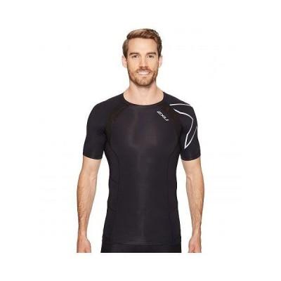 2XU ツータイムズユー メンズ 男性用 ファッション アクティブシャツ Compression Short Sleeve Top - Black/Silver
