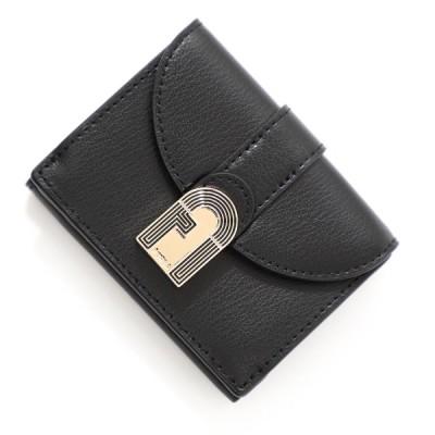 フルラ FURLA 3つ折り財布 小銭入れ付き FURLA 1927 OPERA ブラック レディース pdv9jbx-avo-o60