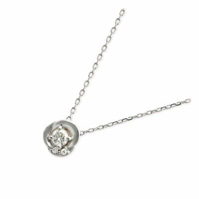 プラチナ ネックレス ダイヤモンド 彼女 誕生日プレゼント 記念日 ギフトラッピング ヴイエーヴァンドームアオヤマ