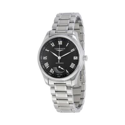 腕時計 ロンジン Longines Master コレクション オートマチック ブラック ダイヤル ステンレス スチール メンズ 腕時計