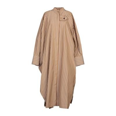 ジル サンダー JIL SANDER 7分丈ワンピース・ドレス キャメル 38 コットン 100% 7分丈ワンピース・ドレス
