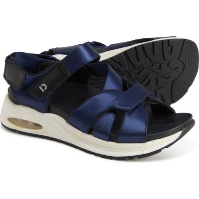 カルソーアースシューズ Earth レディース サンダル・ミュール スポーツサンダル シューズ・靴 cedar kushma sport sandals - leather Navy