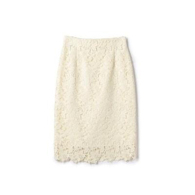 ESTNATION レースタイトスカート