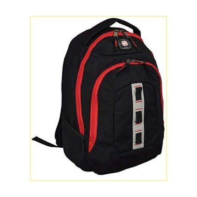 "【新品・未使用品】SwissGear Complex 16"" Padded Laptop Backpack/School Travel Bag (Black)【並行輸入品】"