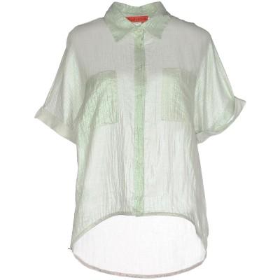マニラ グレース デニム MANILA GRACE DENIM シャツ ライトグリーン 42 コットン 100% シャツ
