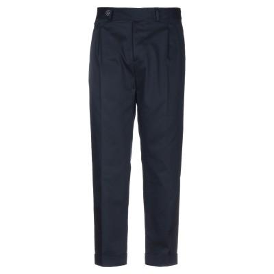 マニュエル リッツ MANUEL RITZ パンツ ブルー 52 コットン 98% / ポリウレタン 2% パンツ