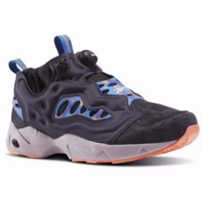Reebok リーボック スポーツ用品 シューズ [BD1613] Mens Reebok Instapump Fury Road MCT Running Sneaker - Lead Blue