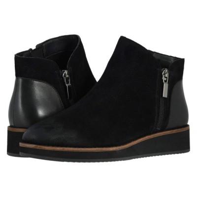 ソフトウォーク SoftWalk レディース ブーツ シューズ・靴 Wesley Black Suede