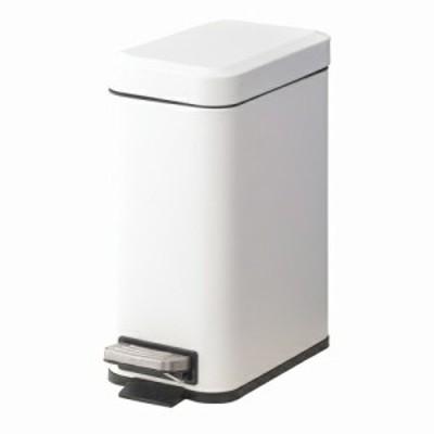トラッシュカン 5L ホワイトLFS-232WH 東谷 ゴミ箱 ふた付 ペダル式 ごみ箱 ダストボックス メーカー直送 同梱不可 代引不可 配送地域限