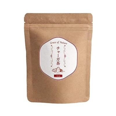 Grace of Nature(グレイスオブネイチャー) チャーガ茶 ティーパック 3g×30包入 ロシア産