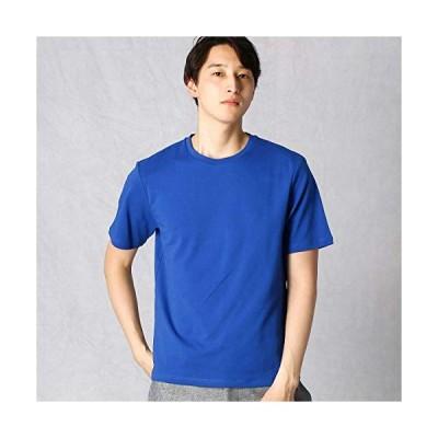(コムサ メン) COMME CA MEN ノンステイン×ナノファイン加工 クルーネックTシャツ 07-42TP03-200 M ブルー