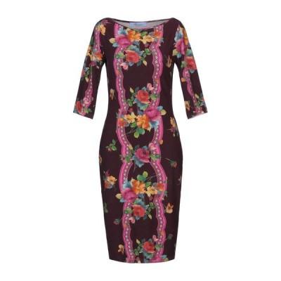 BLUMARINE チューブドレス  レディースファッション  ドレス、ブライダル  パーティドレス ディープパープル