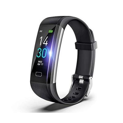 明誠 スマートブレスレット スマートウォッチ IP68防水 消費カロリー 睡眠検測 運動記録 カラースクリーン 大字幕 腕時計 着信/電話/Line通
