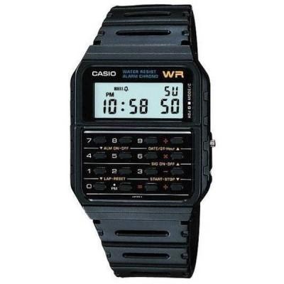 腕時計 カシオ Casio CA53W-1 メンズ クラシック 8 Digit クロノグラフ アラーム Calculator 腕時計